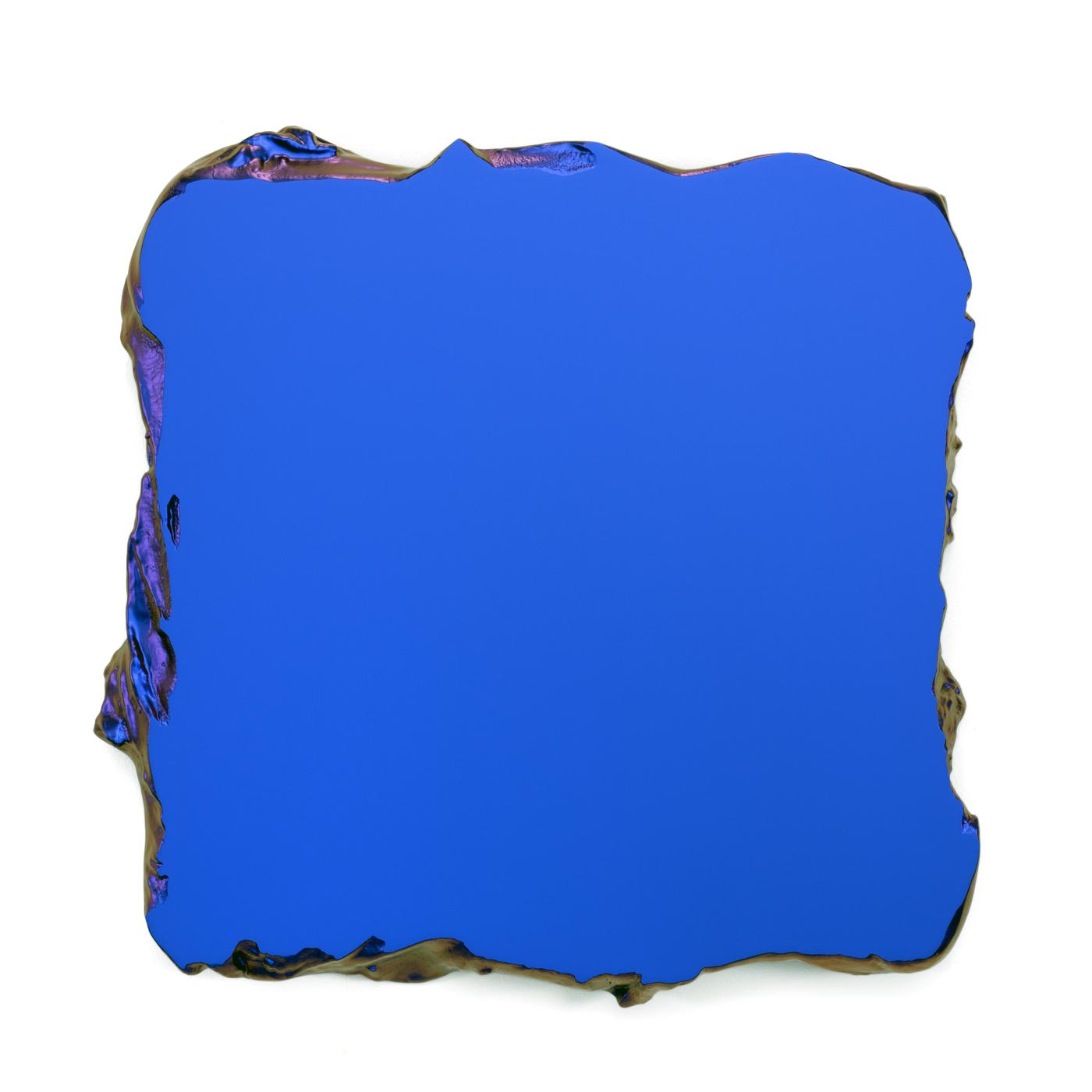 Juri Markkula Blue to Red 50x50cm Interference pigment, polyurethan