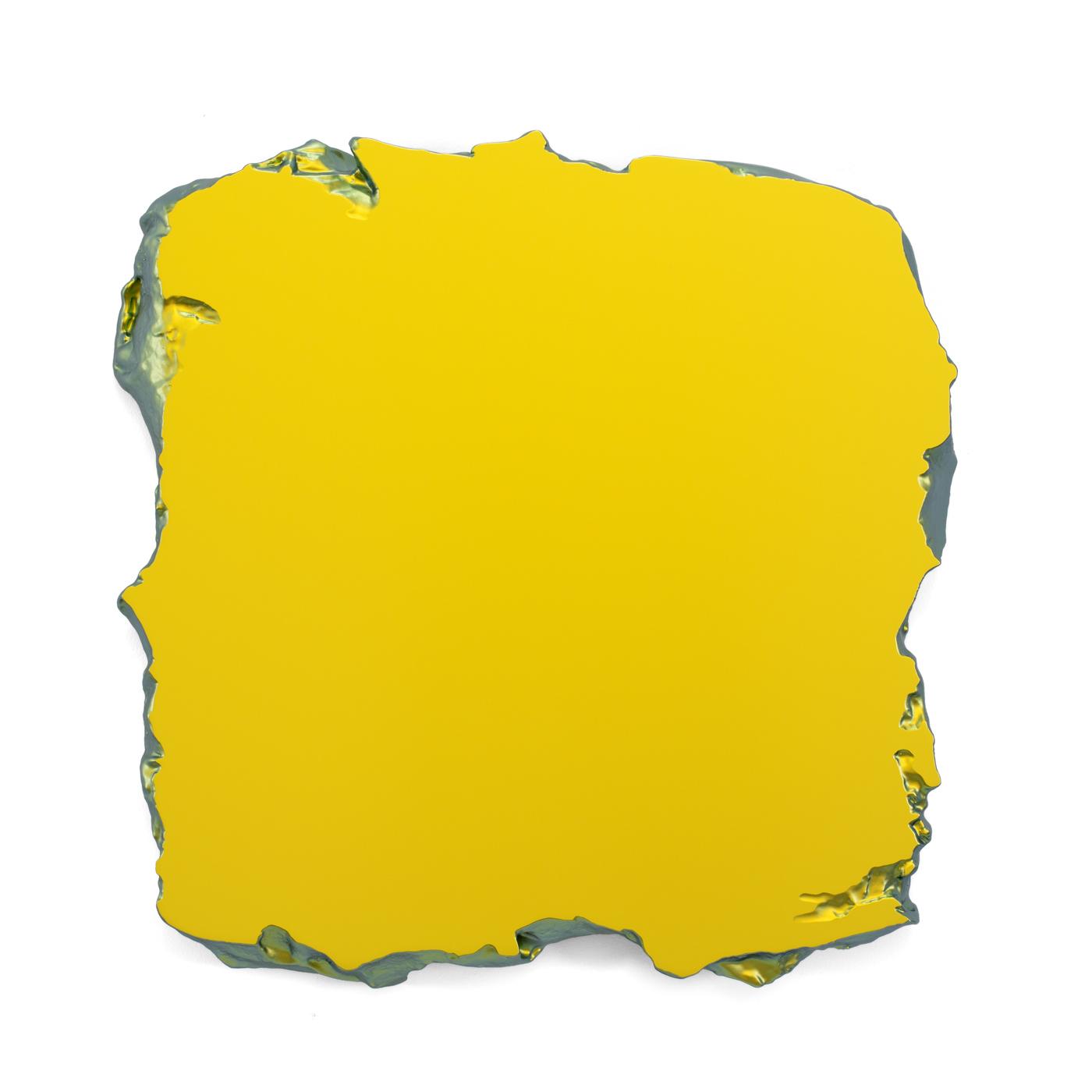Juri Markkula Gold to Green 50x50cm Interference pigment, polyurethan