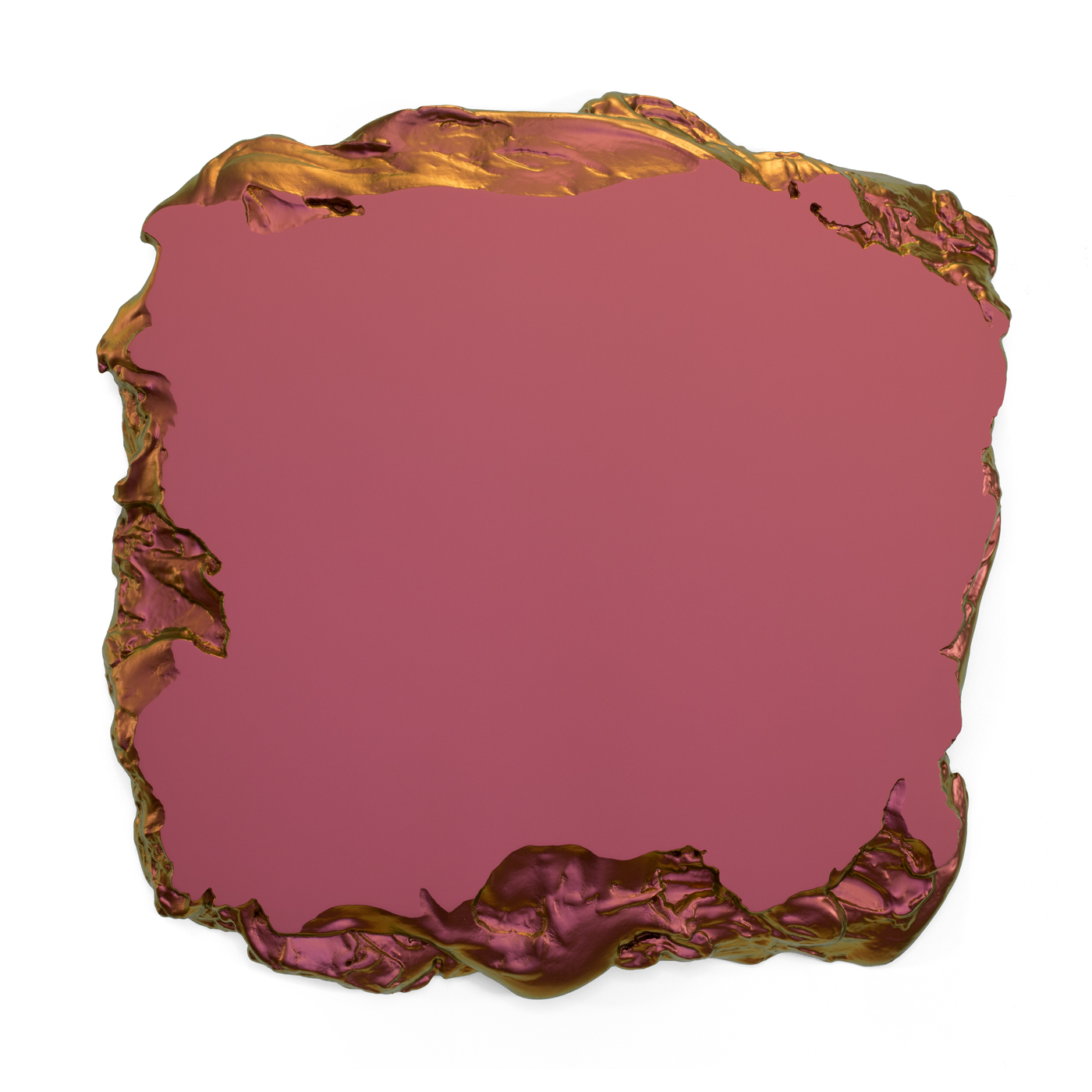 Red to Gold 100x100cm Interference pigment, polyurethan