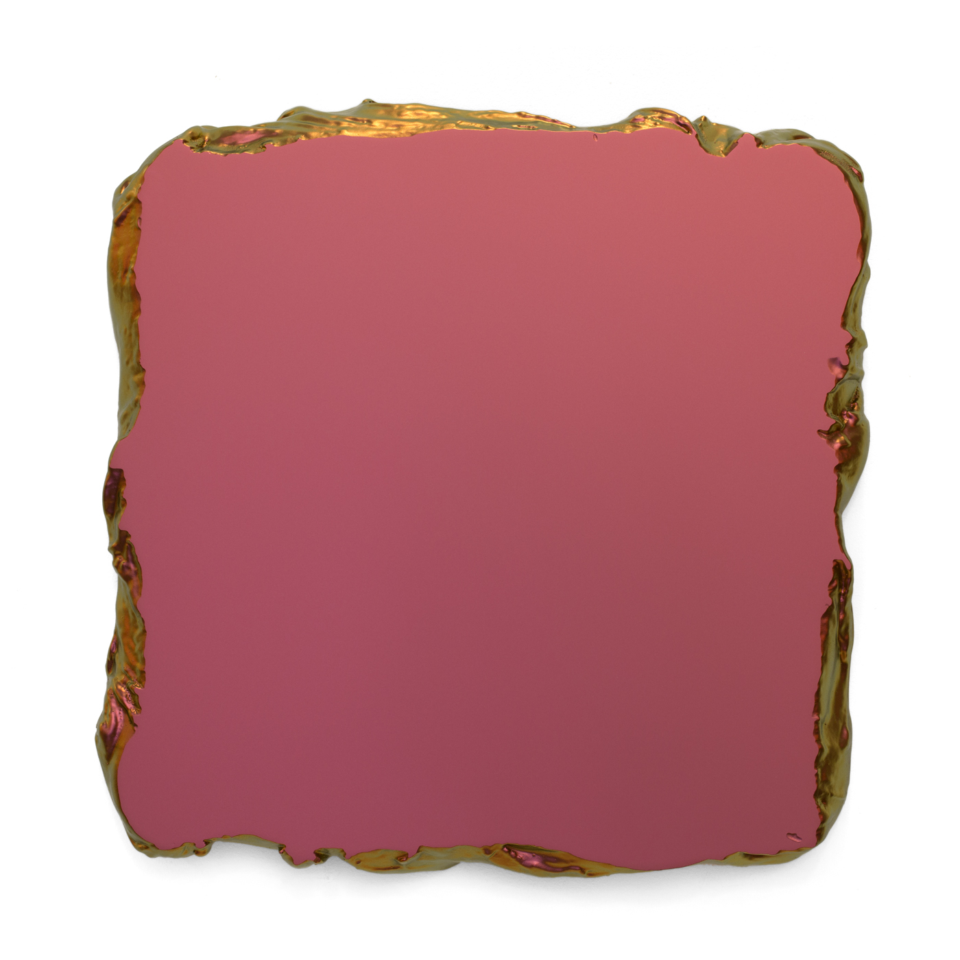 Juri Markkula Red to Gold 50x50cm Interference pigment, polyurethan